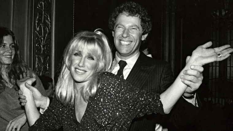 Suzanne Somers and husband Alan Hamel at Studio 54
