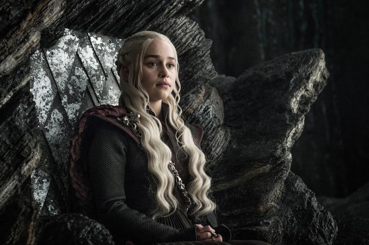 """Emilia Clarke in season 7 of """"Game of Thrones."""""""