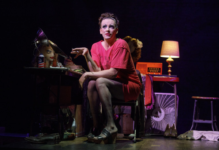 """Michael Urie as Arnold Beckoff in \""""TORCH SONG\"""" by Harvey Fierstein"""