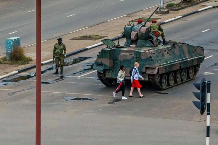 Image: ZIMBABWE-POLITICS-UNREST