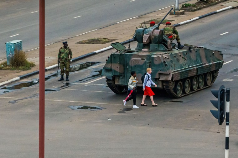 Image: ZIMBABWE-POLITICS-UNREST