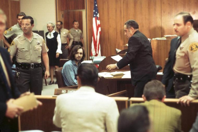Image: Charles Manson Dies