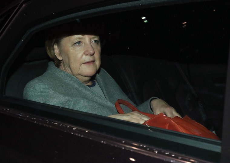 Image: Angela Merkel's fourth term as German Chancellor now looks uncertain.