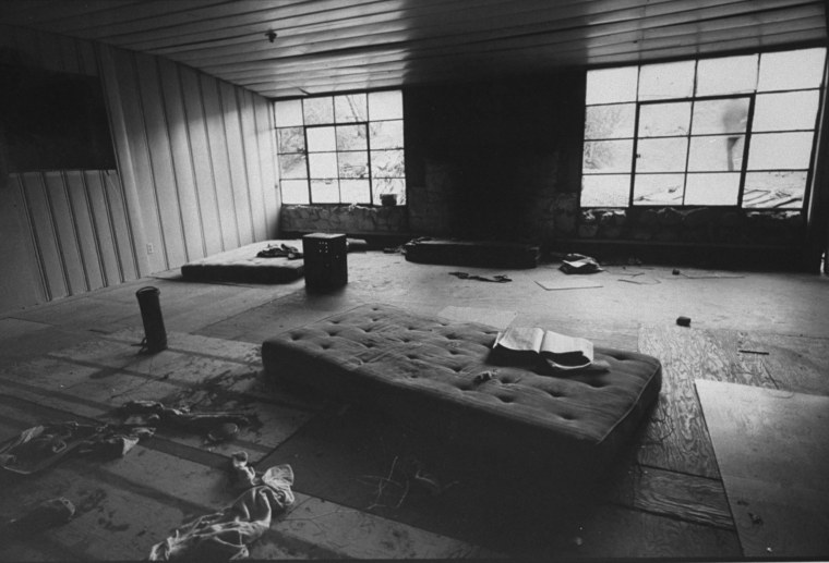 Image: The interior of Spahn ranch.