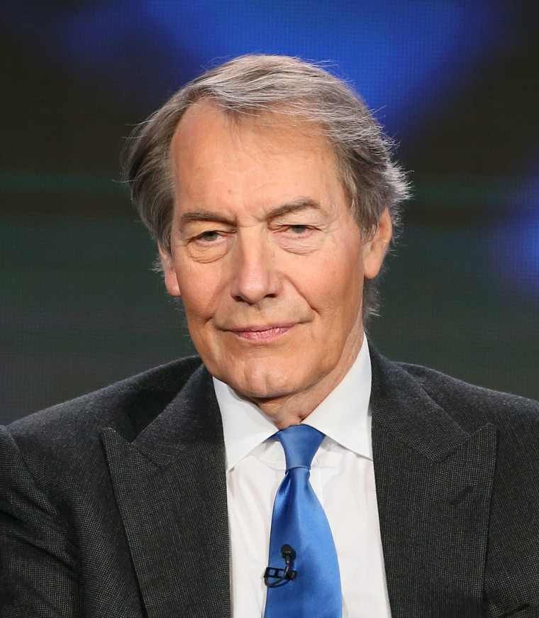 Image: Charlie Rose speaks onstage during the 2015 Winter TCA Tour