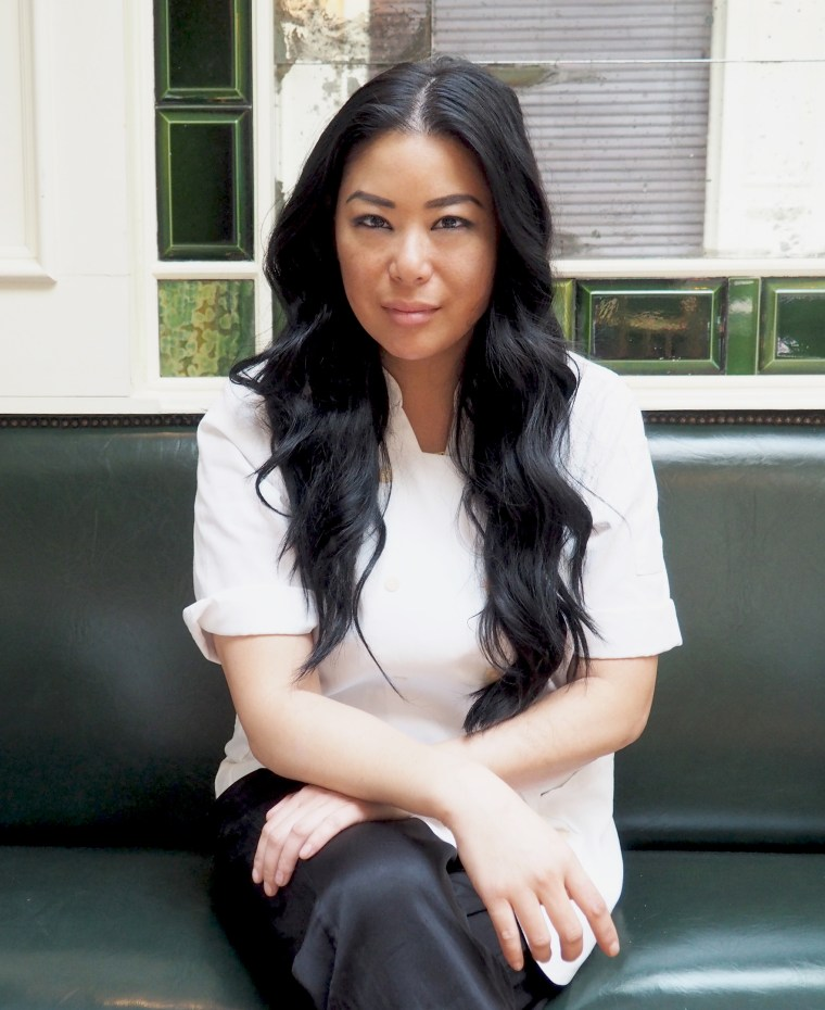 Angie Mar, chef-owner of The Beatrice Inn in New York City.