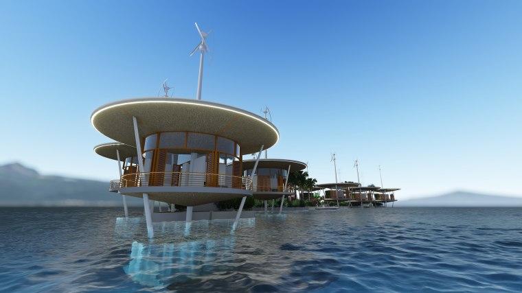 Image: Tahiti Floating Village
