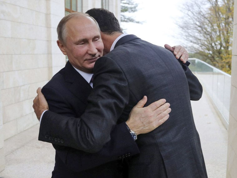 Image: Vladimir Putin, Bashar Assad