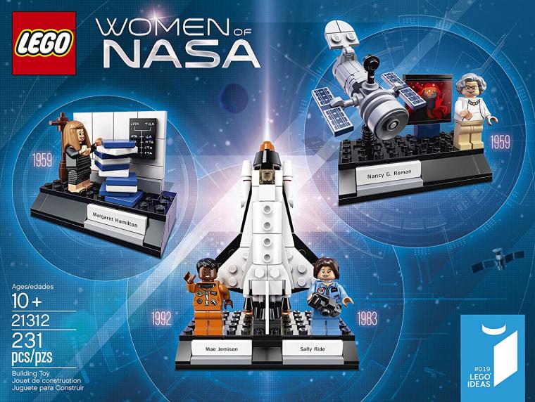 """""""Women of NASA"""" Lego set"""