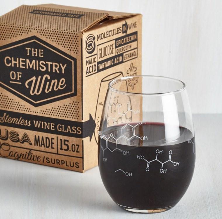Pour-ganic Chemistry Wine Glass