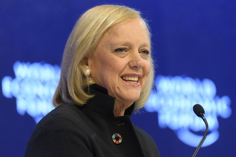 Image: Meg Whitman, chairwoman and CEO of Hewlett-Packard
