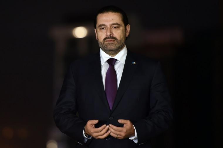 Image: Lebanese Prime Minister Saad Hariri