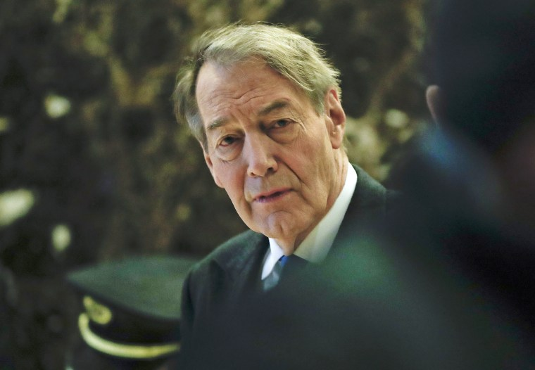 TV News anchor Charlie Rose
