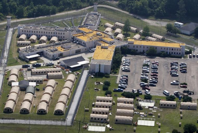 Image: The Louisiana State Penitentiary at Angola, Louisiana