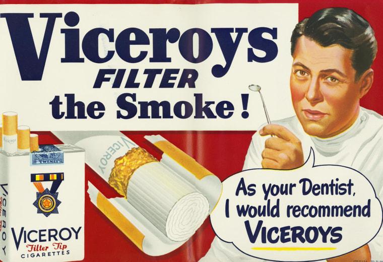 Image: Viceroy cigarette ad