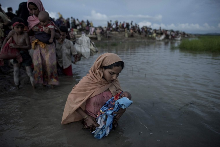 Image: FILES-BANGLADESH-MYANMAR-UNREST-REFUGEE-US