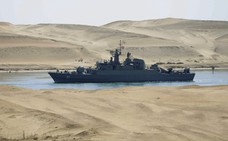 Image: Iranian frigate