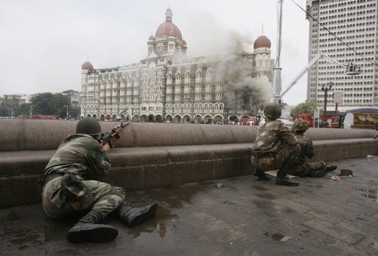 Image: Mumbai Terror Attacks in 2008