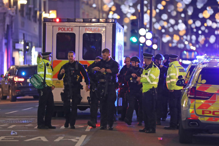 Image: BRITAIN-POLICE-INCIDENT