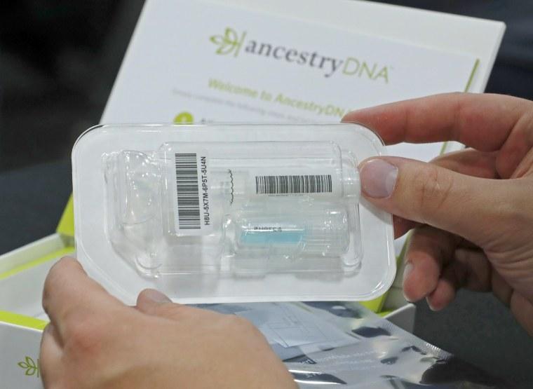 Image: Ancestry.com DNA kit