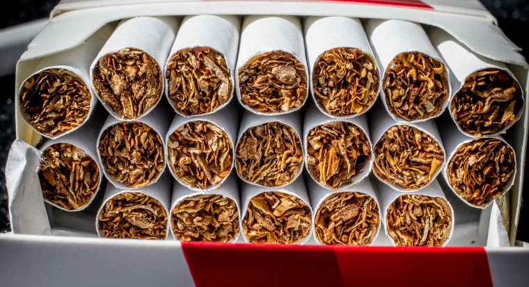Image: A pack of cigarettes