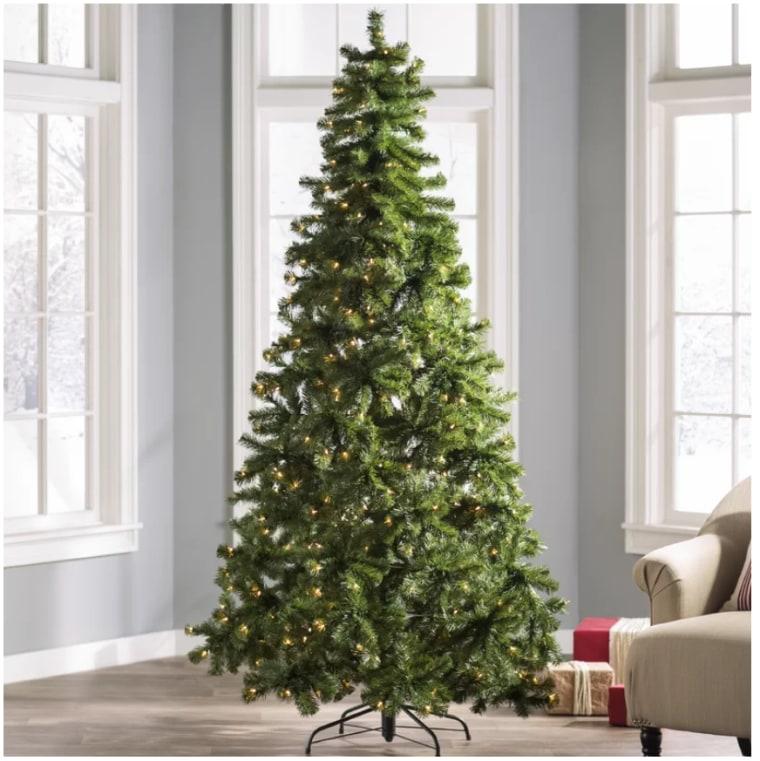 Fake Fir Christmas tree