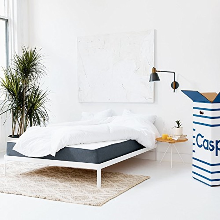 Casper mattress in bedroom