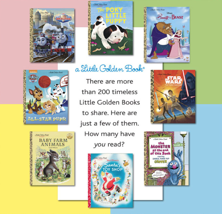 Random House Children's Books Little Golden Book Set