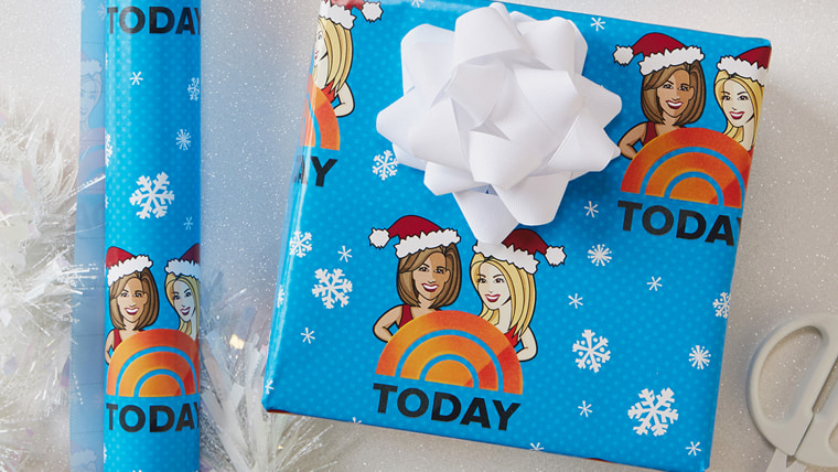 Kathie Lee and Hoda wrapping paper