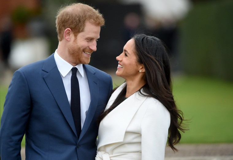 Image: Prince Harry and Meghan Markle engagement in Kensington Palace
