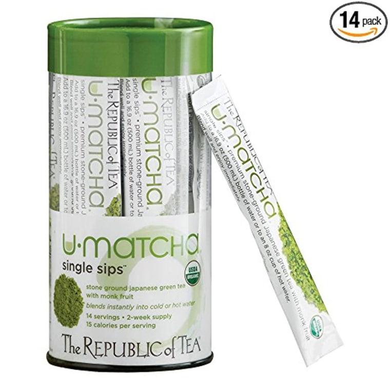 Republic of Tea Matcha packs