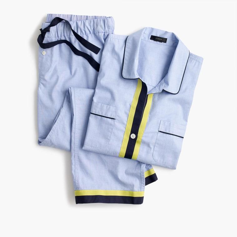 J. Crew cotton pajama set