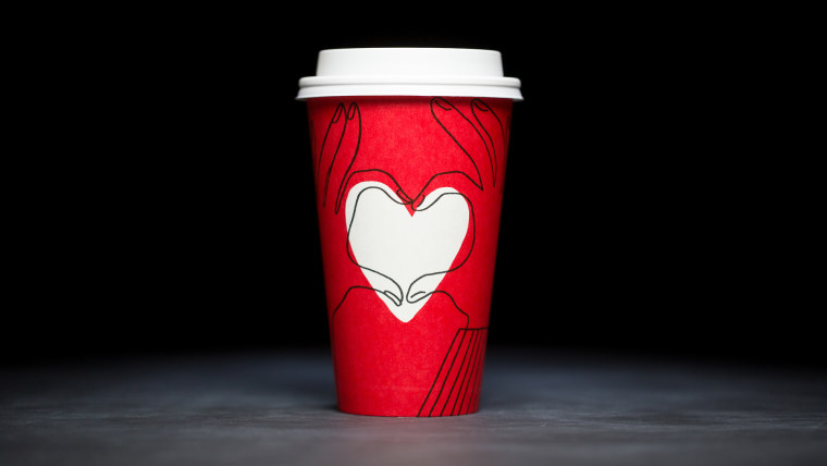 Starbucks just released a red holiday cup after all.