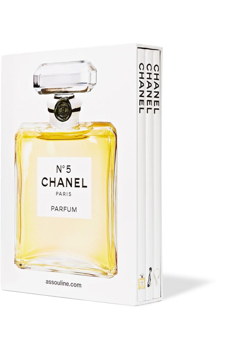 Assouline set of three Chanel books