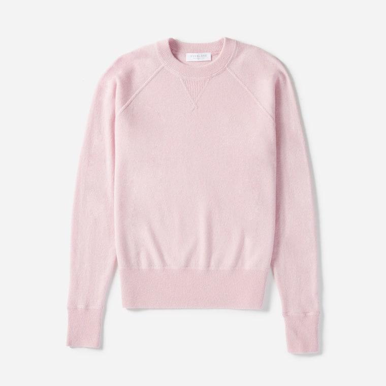 Everlane cashmere sweatshirt