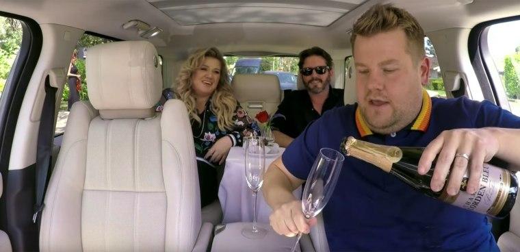 Kelly Clarkson on Carpool Karaoke