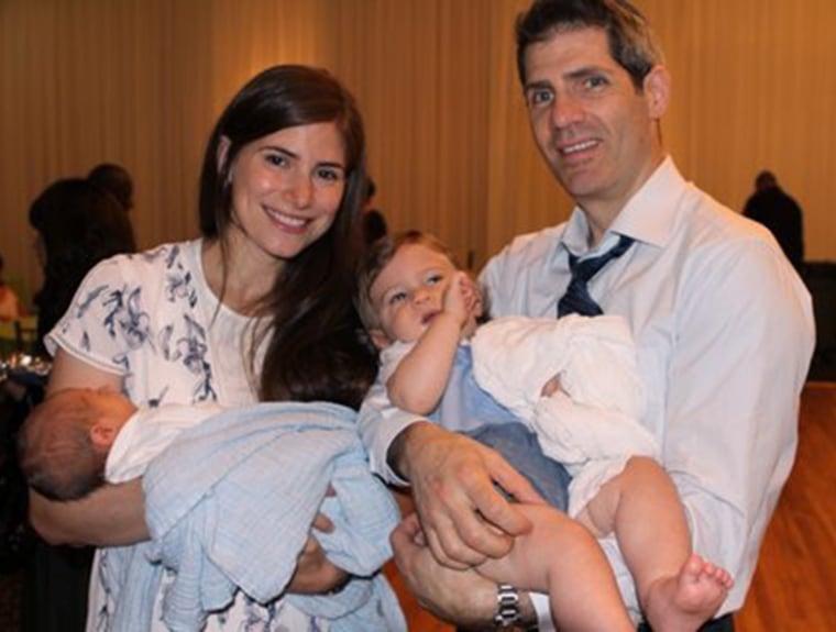 Jennie Landsman underwent genetic testing and was surprised to learn she carried Canavan disease.