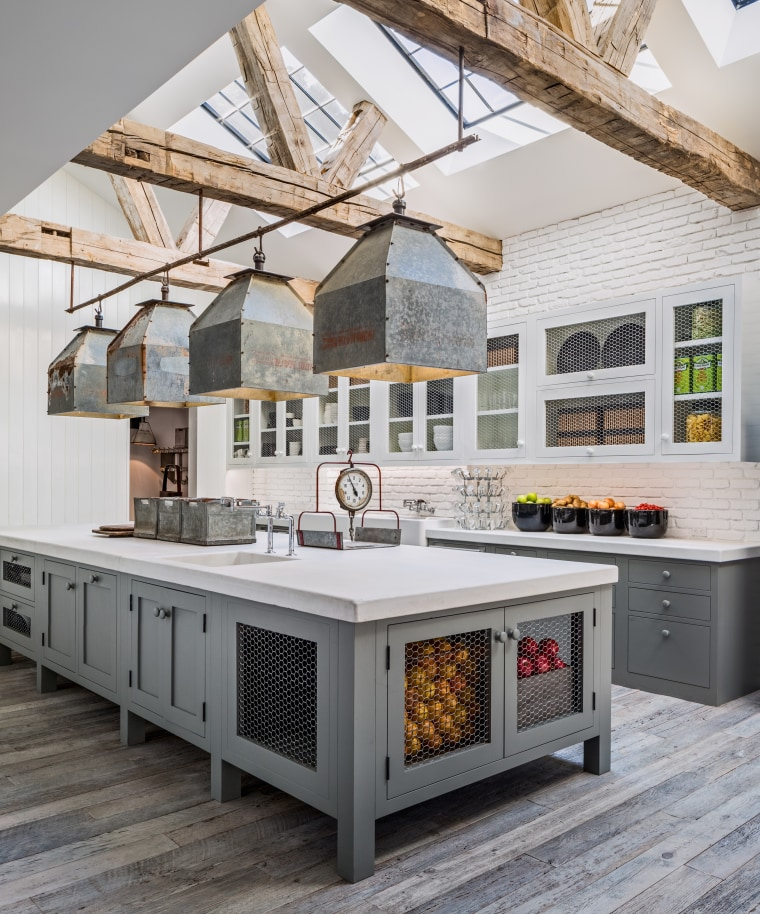 Diane Keaton's kitchen.