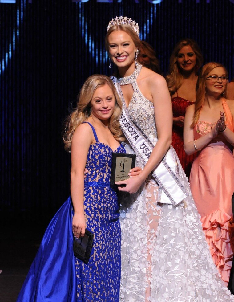While Mikayla Holgrem didn't win Miss Minnesota, she did take home two prizes, the Spirit of Miss USA and the Director's award.