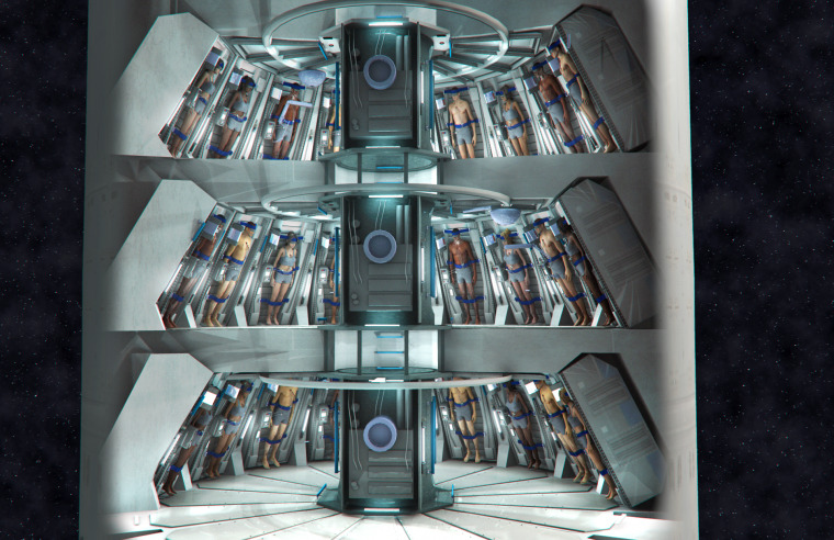 Torpor could help fit more people on smaller ships to help rapidly populate space colonies.