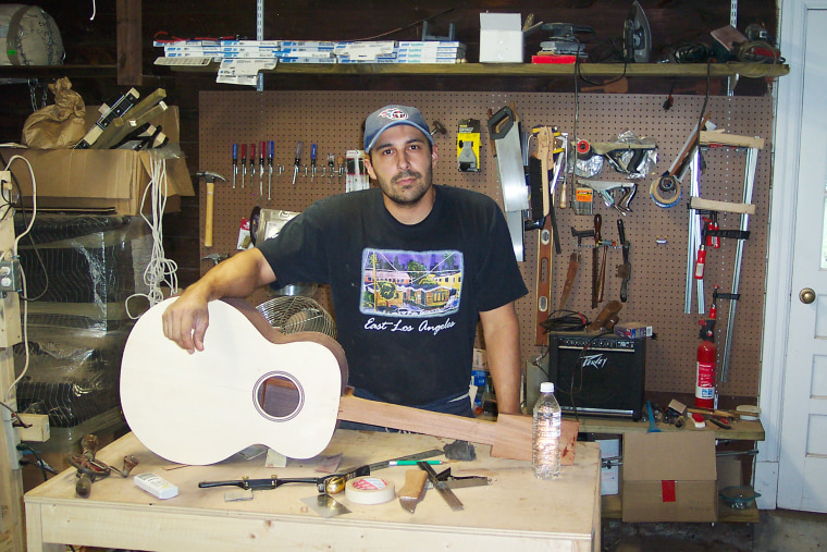 Passing it on: Through generations, Mexican-American family handcrafts world-class guitars