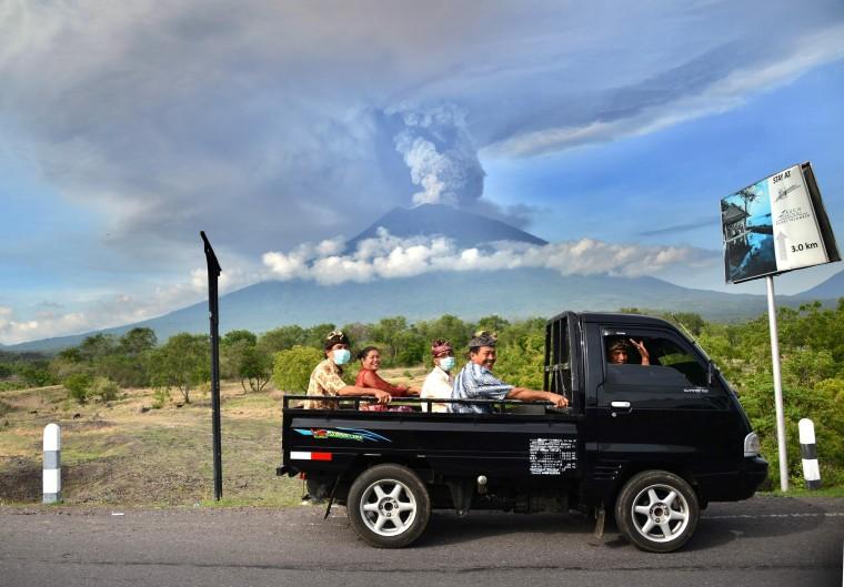 Image: Mount Agung Eruption in Bali
