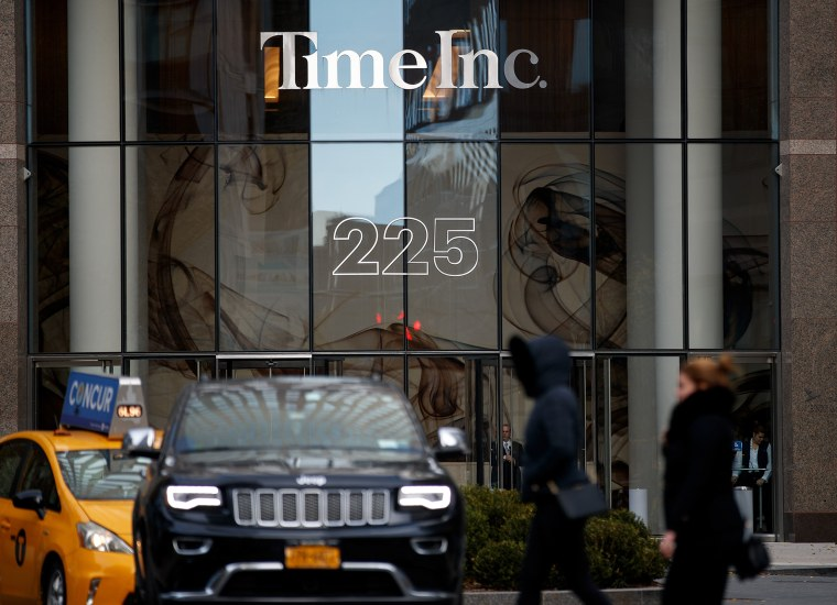 Image: The Time Inc. office building in New York