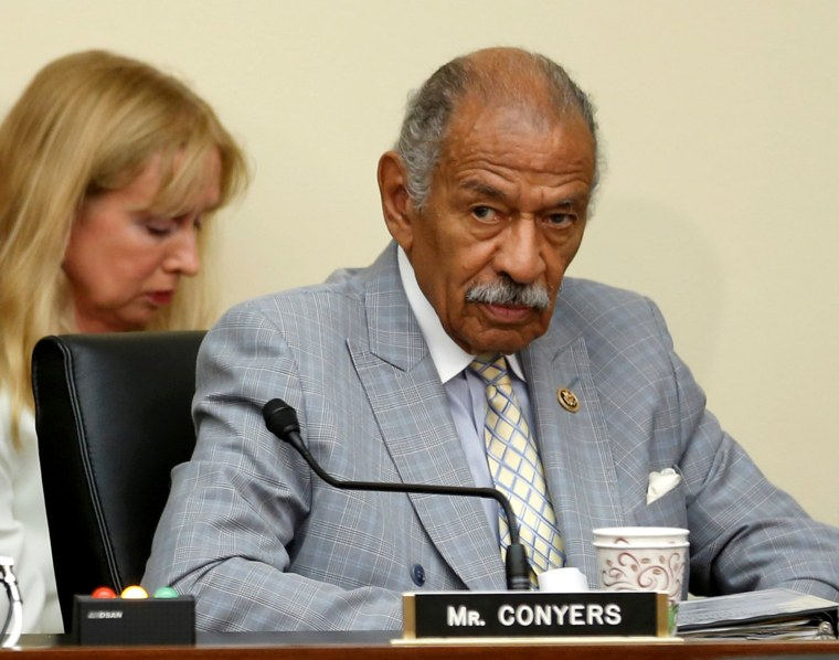 Image: U.S. Representative John Conyers