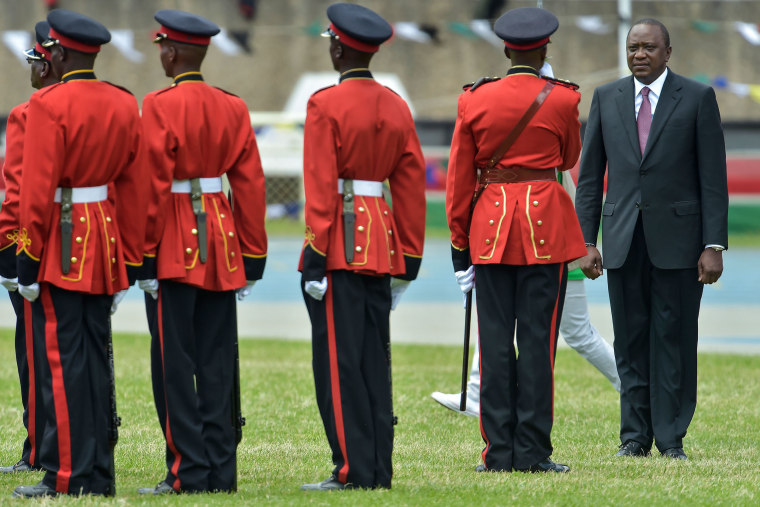 Image: Kenya's Inauguration Ceremony