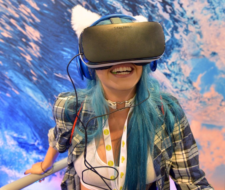 Image: The Samsung Experience At VidCon 2016
