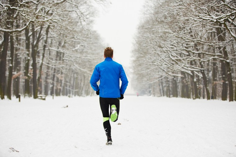 Warm up inside and get your blood flowing: You won't be as chilly on your run if you break a sweat before you head out.