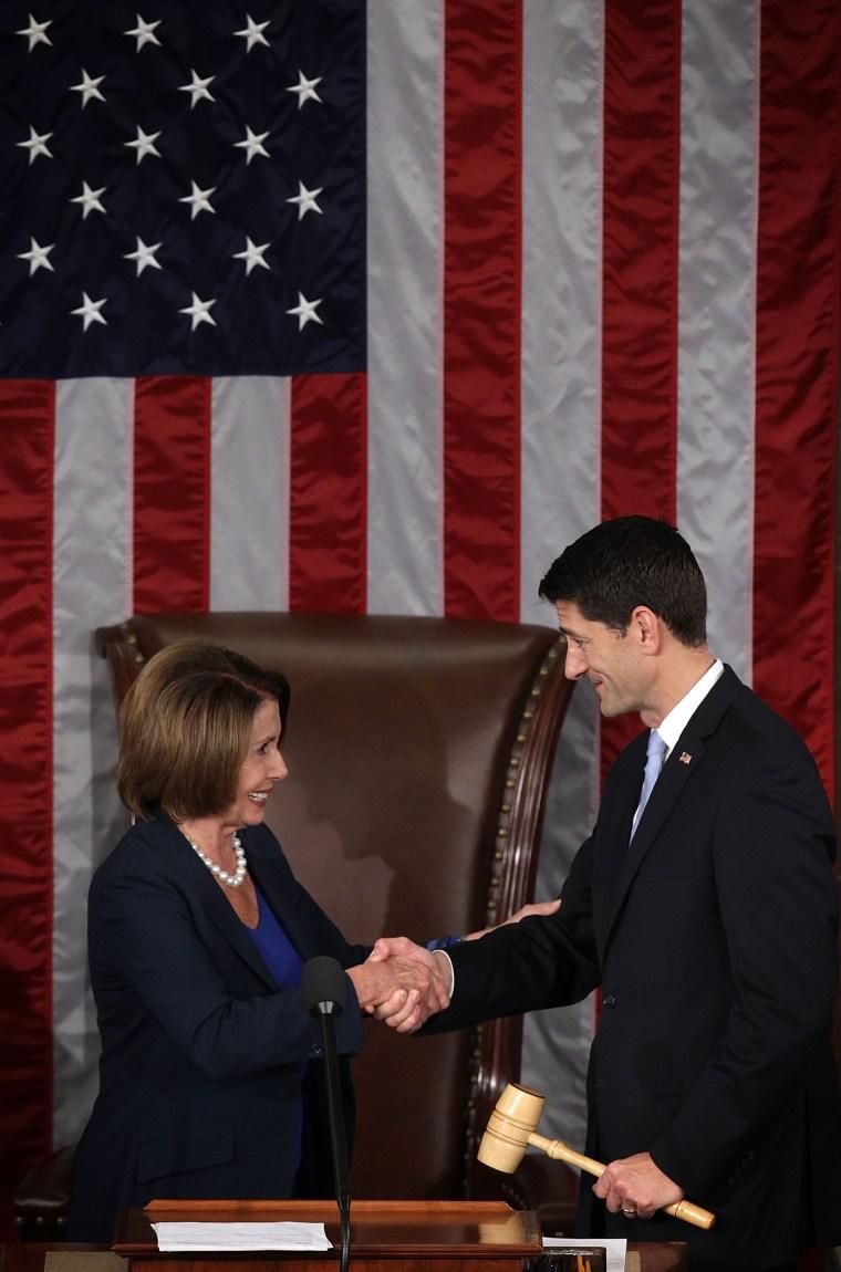 Image: Pelosi, Ryan