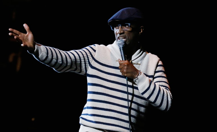 Image: Rickey Smiley performs during Hot 97 Presents April Fools Comedy Show at The Theater