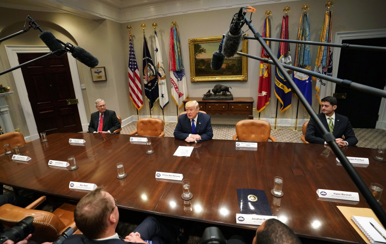 Image: President Trump Meets with Congressional Leaders at the White House